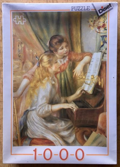 Image of the puzzle 1000, Diset, Girls Playing the Piano, by Pierre-Auguste Renoir, Factory Sealed