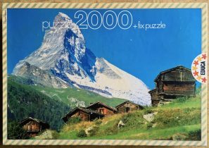 Image of the puzzle 2000, Educa, Cervino, Complete, Picture of the box