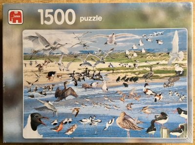 Image of the puzzle 1500, Jumbo, Seabirds, by Eke van Mansvelt, Factory Sealed