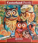 Image of the puzzle 2000, Castorland, Owls, by David Galchutt, Factory Sealed