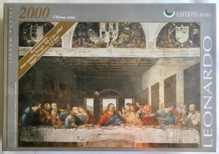Image of the puzzle 2000, Ricordi, The Last Supper, by Leonardo da Vinci, Factory Sealed