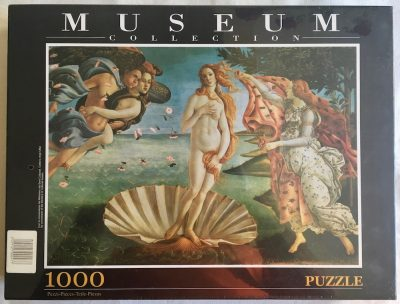 Image of the puzzle 1000, Clementoni, The Birth of Venus, by Sandro Botticelli, Factory Sealed
