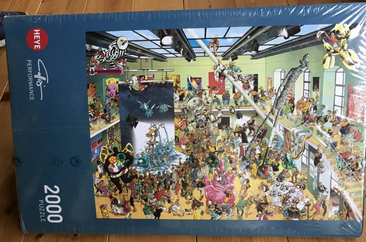 Image of the puzzle 2000, Heye, Performance, Picture of the box