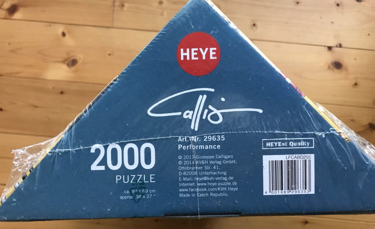 Image of the puzzle 2000, Heye, Performance, Picture of the base