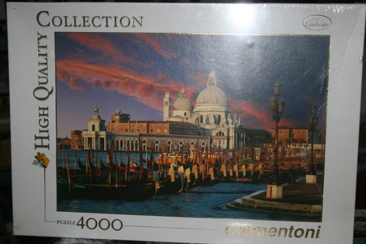 Image of the puzzle 4000, Clementoni, San Marco, Venice, Factory Sealed, Picture of the box