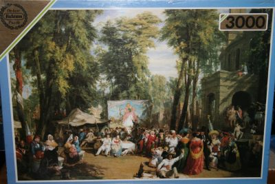 Image of the puzzle 3000, Falcon, Fair in the Champs-Élysées, by William Parrott, Factory Sealed