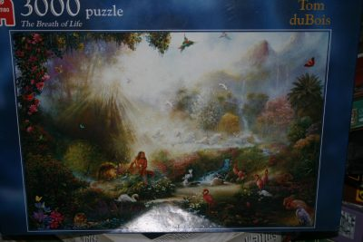 Image of the puzzle 3000, Jumbo, Breath of Life, by Tom duBois, Factory Sealed