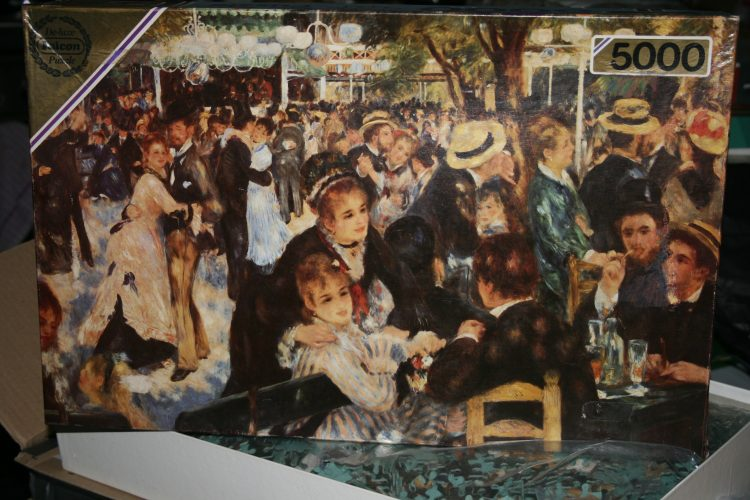 Image of the puzzle 5000, Falcon, Le Moulin de la Galette, by Pierre-Auguste Renoir, Picture of the box