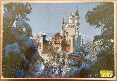 Image of the puzzle 3000, Fame, Bavaria, Factory Sealed