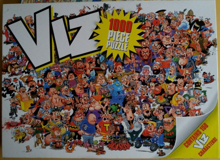 Image of the puzzle 1000, Paul Lamond, Viz, Complete, Picture of the box