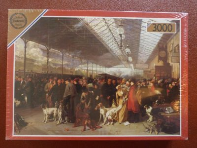 Image of the puzzle 3000, Falcon, Coming South, Perth Station, by George Earl, Factory Sealed, Picture of the box