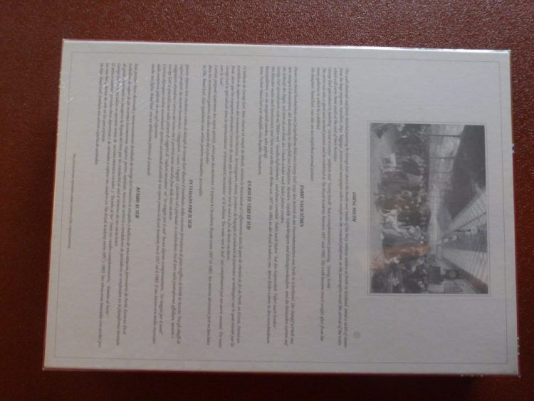 Image of the puzzle 3000, Falcon, Coming South, Perth Station, by George Earl, Factory Sealed, Picture of the back
