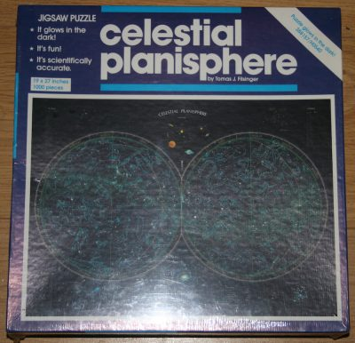 Image of the puzzle 1000, Great American Puzzle Factory, Celestial Planisphere, Factory Sealed