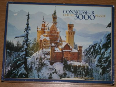 Image of the puzzle 3000, Arrow, Neuschwanstein Castle, Bavaria, Picture of the box
