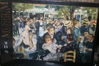 Image of the puzzle 1000, Clementoni, Dance at le Moulin de la Galette, by Pierre-Auguste Renoir, Factory Sealed