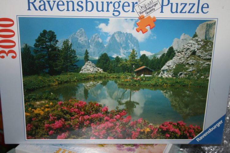 Image of the puzzle 3000, Ravensburger, The Dolomites, Italy, Factory Sealed, Liste