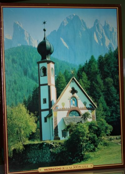 Image of the puzzle 500, Waddingtons, Val di Vilnos, Italy, Sealed Bag, Picture of the box