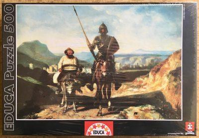 Image of the puzzle 500, Educa, Don Quijote de la Mancha, Factory Sealed