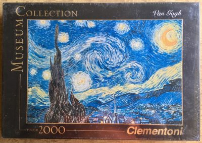 Image of the puzzle 2000, Clementoni, Starry Night, by Vincent van Gogh, Factory Sealed