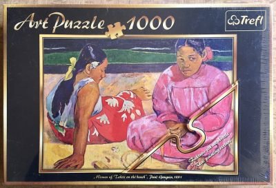 Image of the puzzle 1000, Trefl, Tahitian Women on the Beach, by Paul Gauguin, Factory Sealed