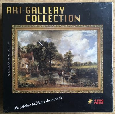 Image of the puzzle 1500, Panley, The Hay Wain, by John Constable, Factory Sealed