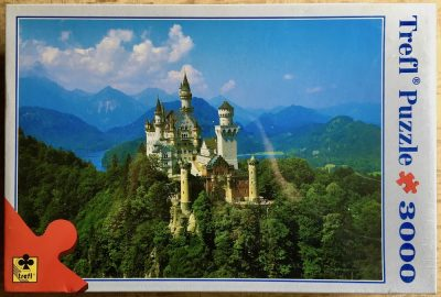 Image of the puzzle 3000, Trefl, Neuschwanstein, Factory Sealed