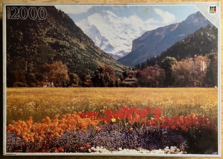 Image of the puzzle 2000, Diset, Jungfrau, Factory Sealed