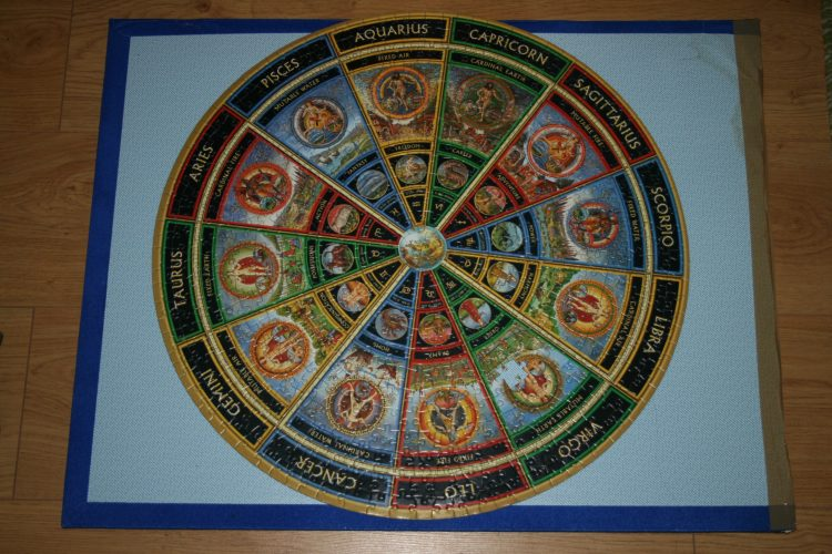 Image of the puzzle 625, Mind Games, Star Encounters, Complete, Picture of the puzzle assembled