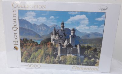 Image of the puzzle 6000, Clementoni, Neuschwanstein (36520), Factory Sealed