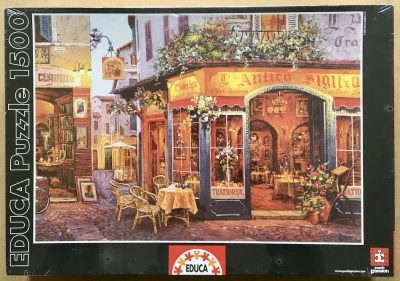 Image of the puzzle 1500, Educa, L'Antico Sigillo, Viktor Shvaiko, Factory Sealed