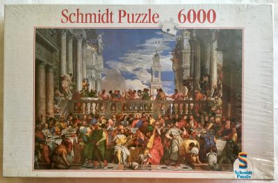 Image of the puzzle 6000, Schmidt, Wedding at Cana, by Paolo Veronese, Factory Sealed
