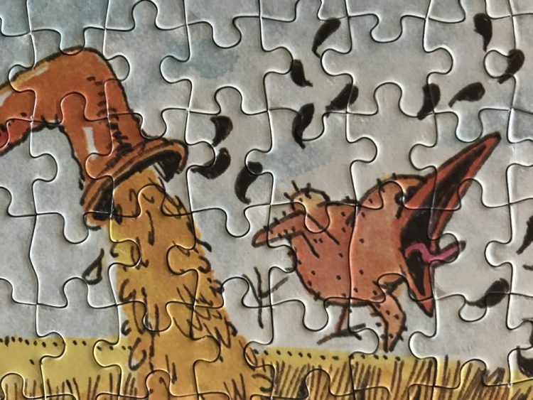 Image of the puzzle 1500, Heye, Summertime, by Jean-Jacques Loup, Detail of the puzzle