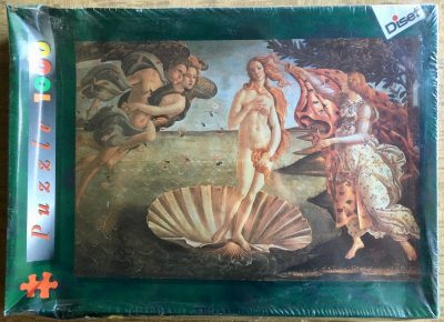 Image of the puzzle 1000, Diset, The Birth of Venus, by Sandro Botticelli, Factory Sealed