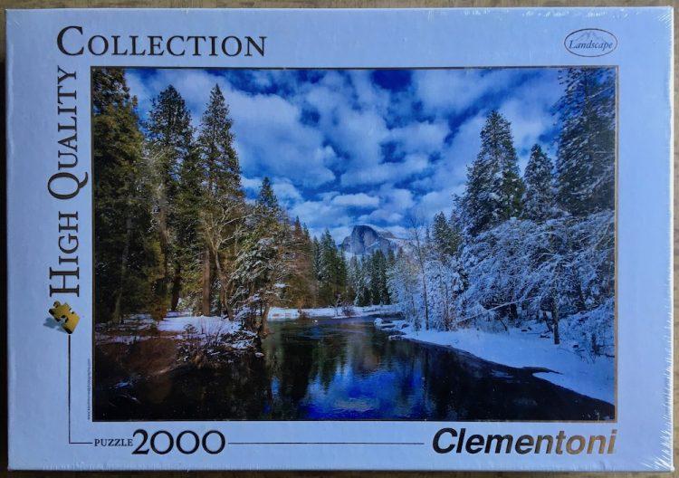 Image of the puzzle 2000, Clementoni, Winter Reflection, Yosemite National Park, Factory Sealed