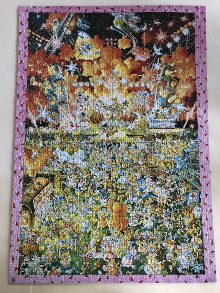 Image of the puzzle 1500, Heye, Lets Rock, Picture of the puzzle assembled