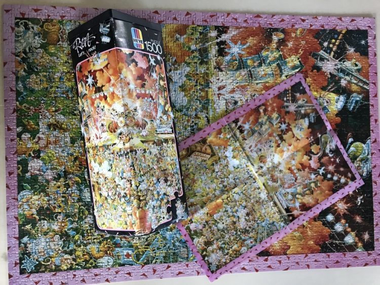 Image of the puzzle 1500, Heye, Lets Rock, Picture of the contents