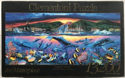 Image of the puzzle 13200, Clementoni, Lahaina Visions, by Christian Riese Lassen, Picture of the box