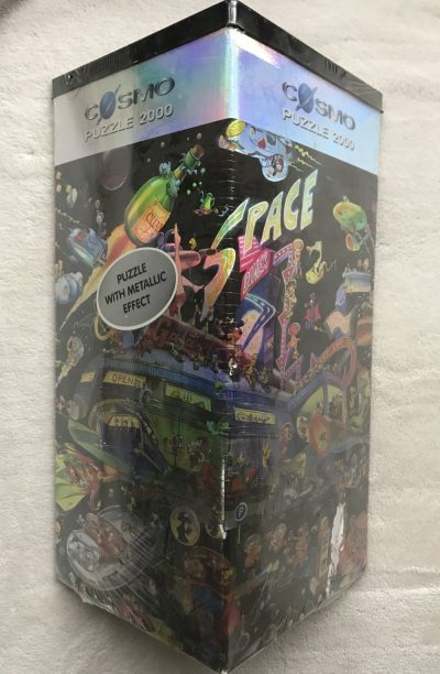 "Image of the puzzle 2000, Heye, Space Diner, by Jan Birck ""Jabo"", Picture of the box"