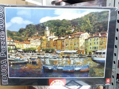 Image of the puzzle 4000, Educa, Portofino, by Guido Borelli, Factory Sealed