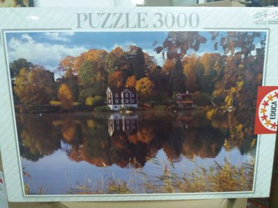 Image of the puzzle 3000, Educa, Autumn Landscape, Factory Sealed
