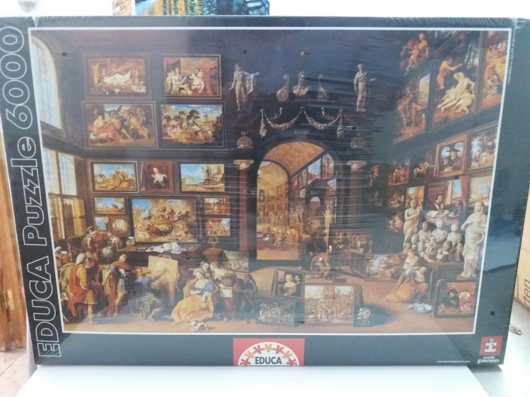 Image of the puzzle 6000, Educa, Art Studio, by Willem van Haecht, Factory Sealed