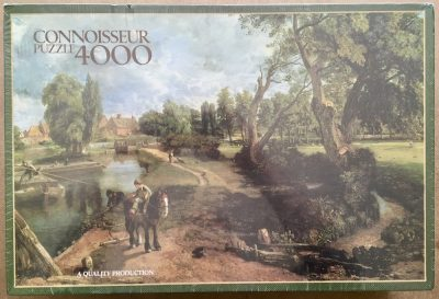 Image of the puzzle 4000, Arrow, Flatford Mill, by John Constable, Factory Sealed