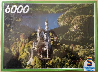 Image of the puzzle 6000, Schmidt, Neuschwanstein, Factory Sealed