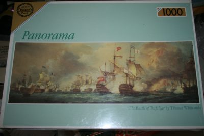 Image of the puzzle 1000, Falcon, The Battle of Trafalgar, by Thomas Whitcombe, Factory Sealed