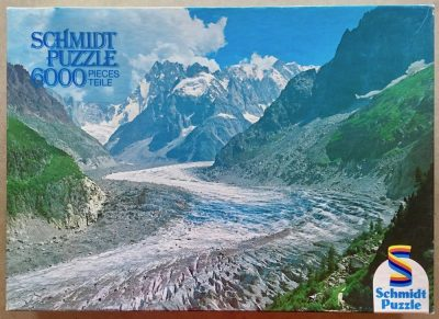 Image of the puzzle 6000, Schmidt, Glacier, Sealed Bag, Picture of the box