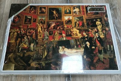 Image of the puzzle 3000, Falcon, The Tribuna of the Uffizi, by Johan Zoffany, Factory Sealed, Picture of the box