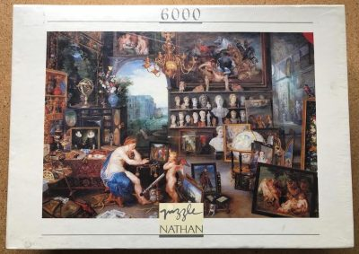 Image of the puzzle 6000, Nathan, The View, Factory Sealed
