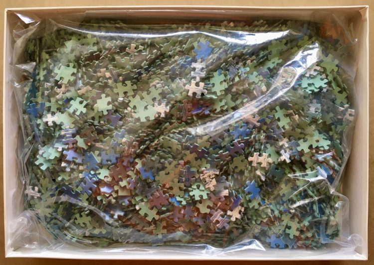Image of the puzzle 4000, Educa, Oregon, USA, Sealed Bag, Picture of the bag