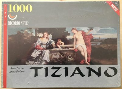Image of the puzzle 1000, Ricordi, Sacred and Profane Love, by Titian