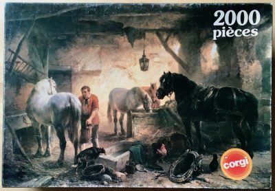 Image of the puzzle 2000, Corgi, Blacksmith, Unknown Artist, Picture of the box